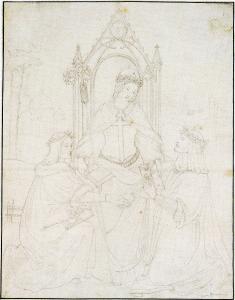 Abb. 7: Friedrich Overbeck, Dürer und Raffael vor dem Throne der Kirche