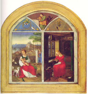 Abb. 8: Franz Pforr, Sulamith und Maria