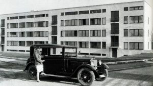 Fig. 10: Ludwig Mies van der Rohe, Case n. 1-4, Weissenhof, Stoccarda, 1927, Am Weissenhof 14-20, fronte