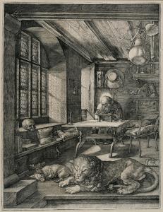Abb. 10: Albrecht Dürer, Hieronymus im Gehäuse