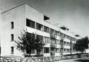 Fig. 11: Ludwig Mies van der Rohe, Case n. 1-4, Weissenhof, Stoccarda, 1927, Am Weissenhof 14-20, retro