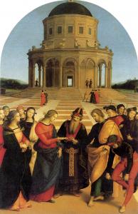 Abb. 13: Raffael, Die Vermählung Mariens – Sposalizio