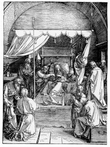 Abb. 14: Albrecht Dürer, Das Leben der Jungfrau Maria, Marientod