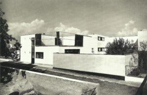 Fig. 19: Walter Gropius, Casa n. 16, Weissenhof, Stoccarda, 1927 (distrutta), Bruckmannweg 4