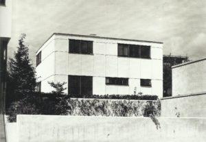 Fig. 21: Walter Gropius, Casa n. 17, Weissenhof, Stoccarda, 1927 (distrutta), Bruckmannweg 6